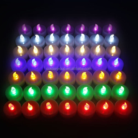Wholesale Solid White LED Fishing Float Light LED Pool Light /flameless candle for birthday day/flameless tea light