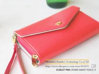 Multi Purpose Ladies Envelope Wallet Case for HTC for 5.5 inch Mobile Phones with Credit Card Slot