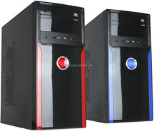 hot sale protective case and vertical type power surply for desktop computer case
