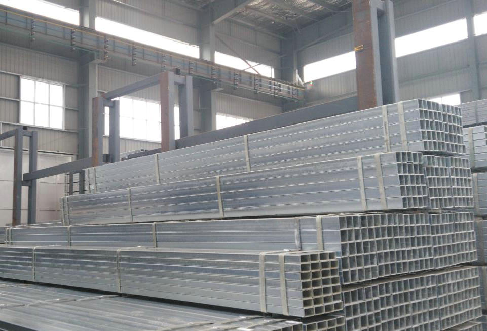 The most popular hot dip galvanized tube
