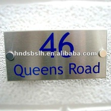 hot! high quality metal signage