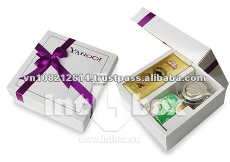 paper gift box for coffee packaging