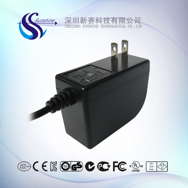 12V 2A ac dc power adapter level VI energy with CUL for CCTV Security System