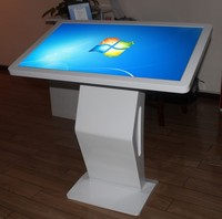 32 inch all in one PC 4 points IR touch interactive table top kiosk