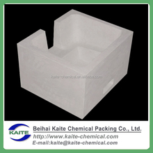 Aluminum silicate filter box for vertical casting