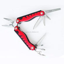 PR-1039 Inserted ABS Aluminum Handle Pliers Emergency escape Multi Tool For Woman