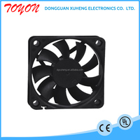 toyon dc 12v or 24v brushless cooling fan with water