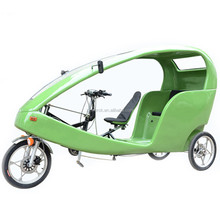 Open Body Three Wheel Velo Taxi with Canopy, Factory Directly Sales 3 Wheel Taxi Bike Electric Auto Rickshaw