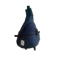 plain color sling bag with one back strap fashion backpack
