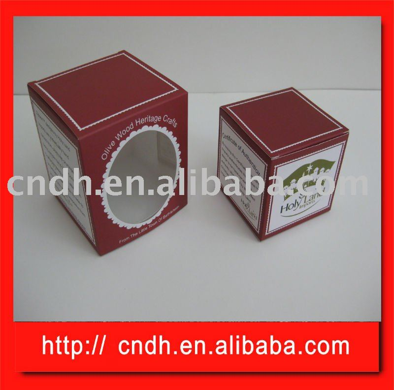 2010 Color paper box