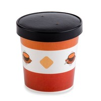 Hot sale disposable 16oz ice cream bowl/ice cream container/ice cream paper cup