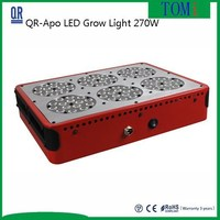 apollo 6 led grow light 90*3w Red(630nm)/Blue(460nm)8:1 Best Quality LE Grow light supplier