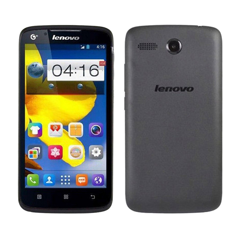 "Original lenovo A399 MTK6582M Quad core 512MB RAM 4GB ROM 5.0"" IPS Dual Sim android 4.4 WCDMA Wifi in stock"