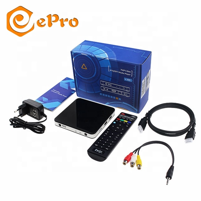 ePro TVIP s805 support Linux/Android <strong>system</strong> 2g16g stream tv box tvip 605 600 415 412 410 set top box