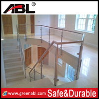 2014 Stainless steel chrome handrails for stairs