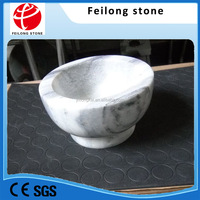 natural granite mortar and pestle stone polished