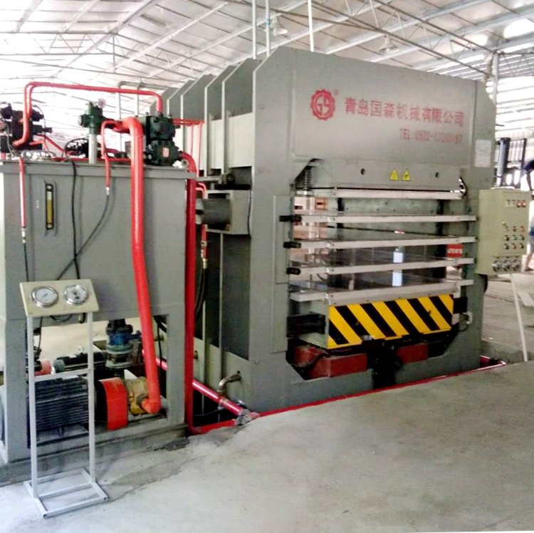 bamboo flooring hydraulic press machine (multi-opening press)