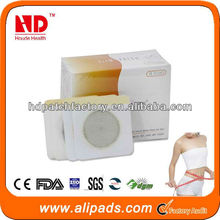 2013 Hot Sale Botanical Slim Patch/ weight loss pad