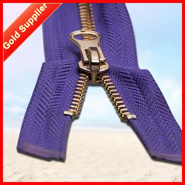 One to one order following High quality metal zippers