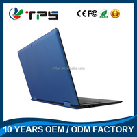 Stylish 2 in 1 turnable tablet quad core win 10 high speed system 13.3 inch 1366*768 IPS large HD Multo-point touch screen
