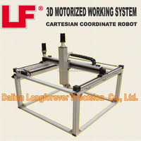 3D Industrial Robot Motorized XYZ Linear