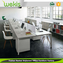 factory price steel office table laminate melamine office furniture
