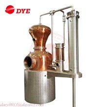 low wine copper still gin distillery pot still for sale