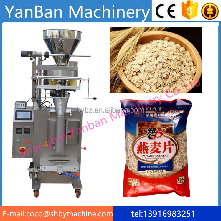 YB-300K Shanghai Factory Price automatic Breakfast cereal filling and Packing Machinery