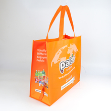 Customized PP Laminated Non Woven Shopping Tote Bag