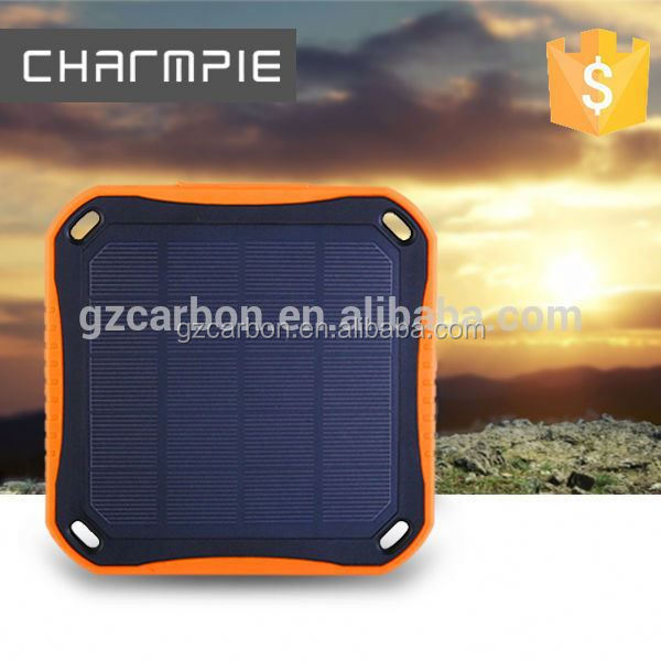 2016 new waterproof solar charger/super fireproof solar charger/solar power charger bag