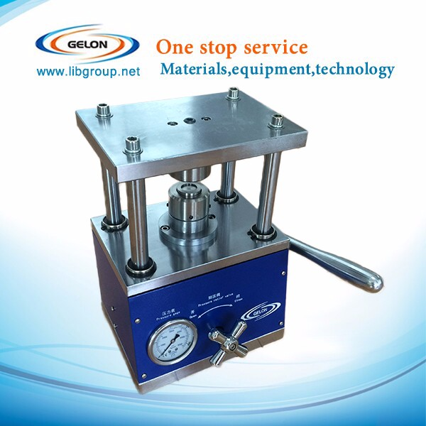 coin cell crimper /coin cell crimping machine for Li-ion research