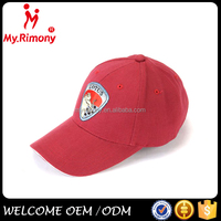 chinese red embroidery new model sports cap hat