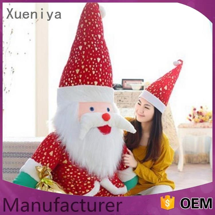 Top quality comfortable giant red animated singing dancing santa