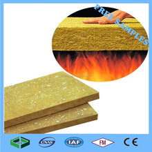 Fireproof Curtain Wall Thermal Insulation Rock Wool Board