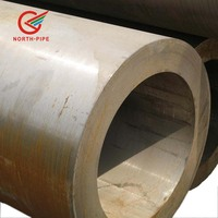 Hot rolled seamless ASTM A335 P91 thick-walled steel alloy pipe for high pressure and temperature power plant