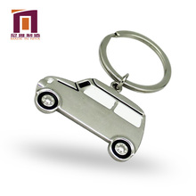 wholesale metal nickel customized cheap car model keychain