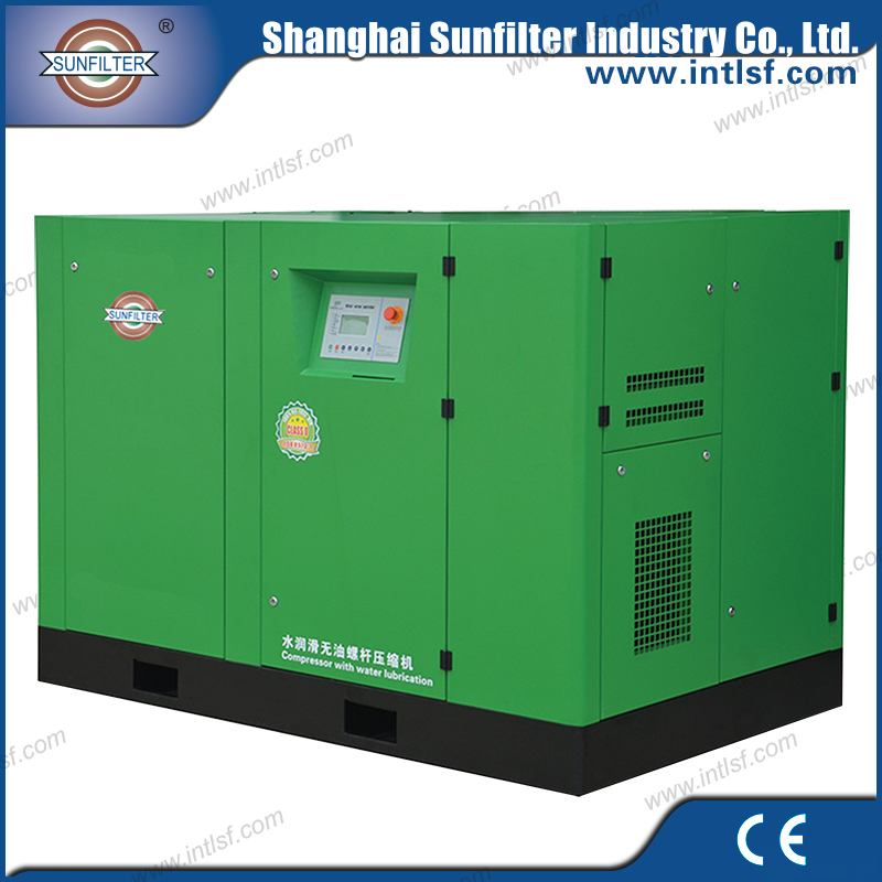 Energy saving oil free noiseless air compressor for electronics industry