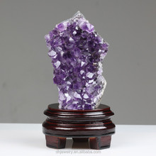 100% natural quartz crystal amethyst geode crystal