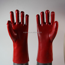Top quality wholesale cheap PVC industrial work glove