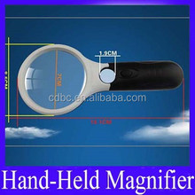magnifier magnifying glass With 3LED for stamps collecting
