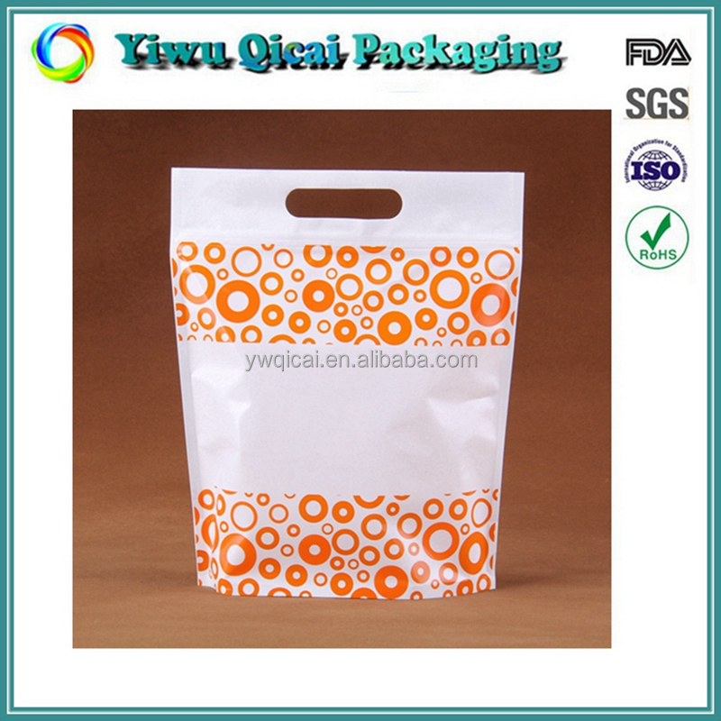 High Quality Colorful Printing Zipper Plastic Packaging Bag Manufacturer Stand Up