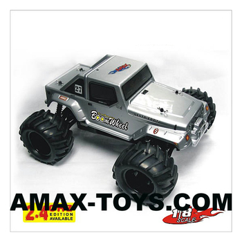 250-83 1/8 nitro powered 4WD off-road toy rc monster truck