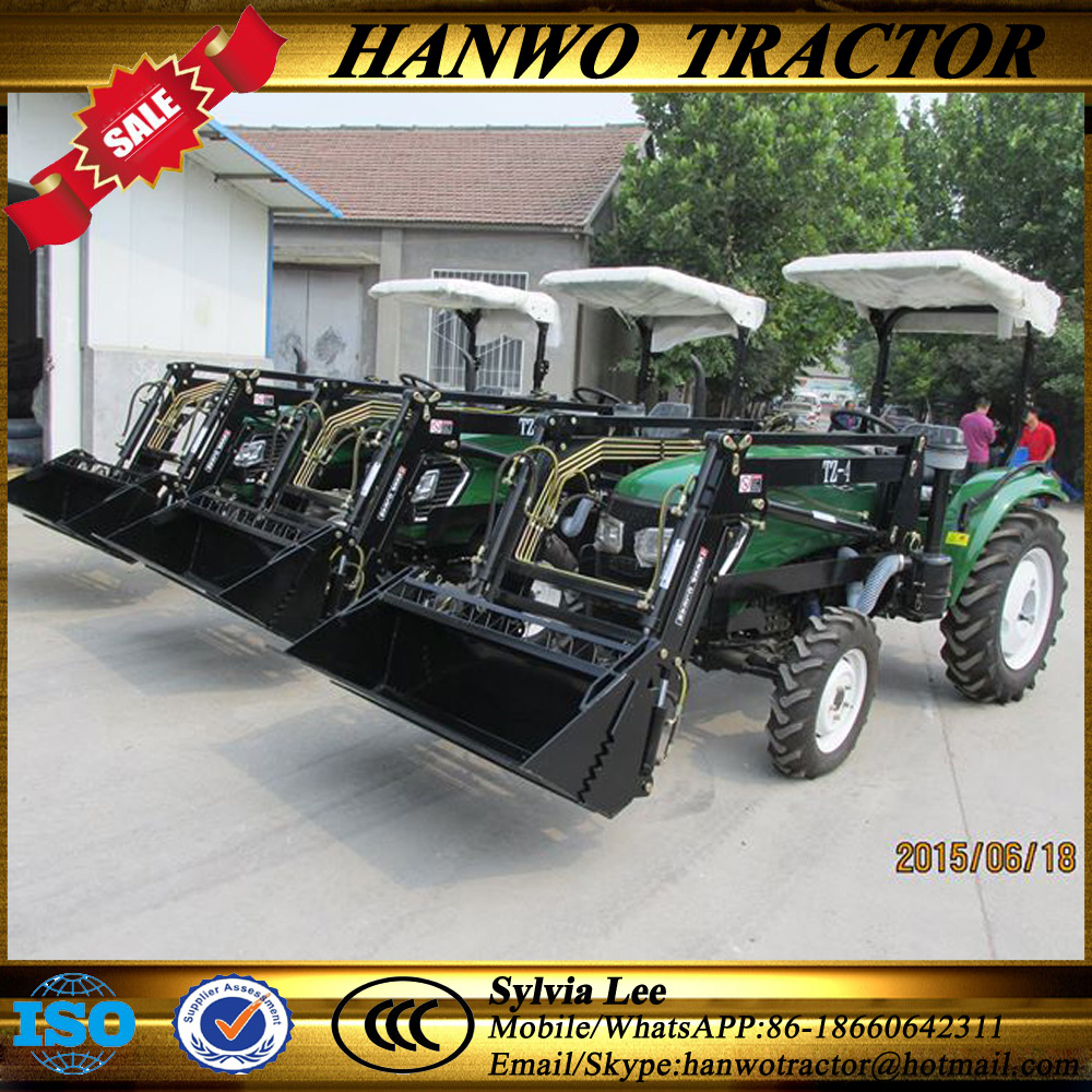 Factory directly sale finely processed 4wd 40hp tracteur agricole