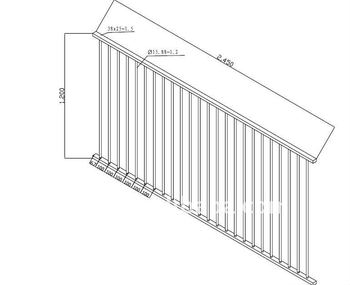 Aluminum Fence for Australia,Cast Aluminum Fence