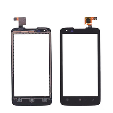 Original LCD screen display for Lenovo S750 Assembly with digitizer touch screen with frame