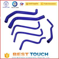 Hot sale 2mm auto silicone vacuum hose silicone pipe for WRX/STI GDA GDB EJ20 RADIATOR KIT