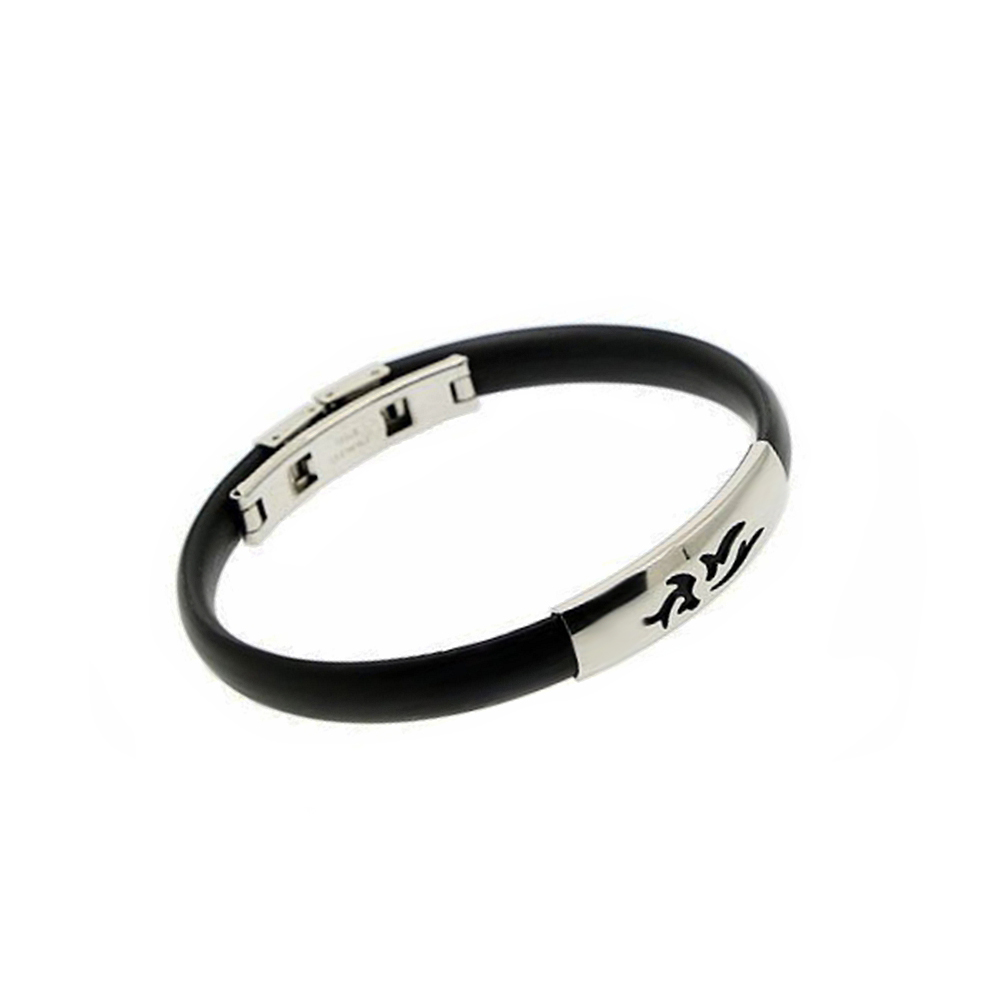 Stainless Steel Very Cheap Watch Band Soft Rubber Bangle Expandable Fashion Jewelry