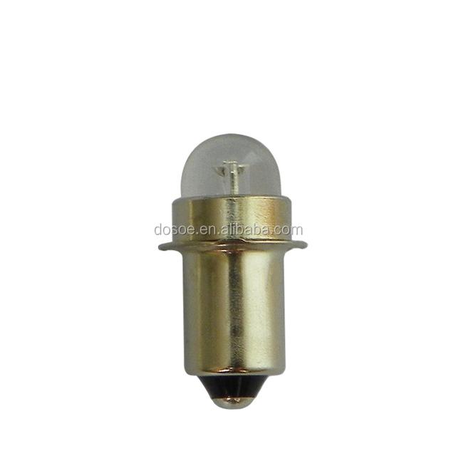 E10, mini led bulb from wholesaler for 2-cell C or D Flashlight
