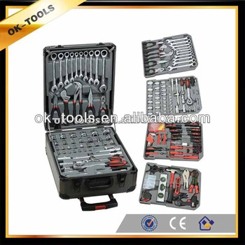 new 2014 tractor manufacturer China wholesale alibaba supplier 186pcs machine tool set tool box