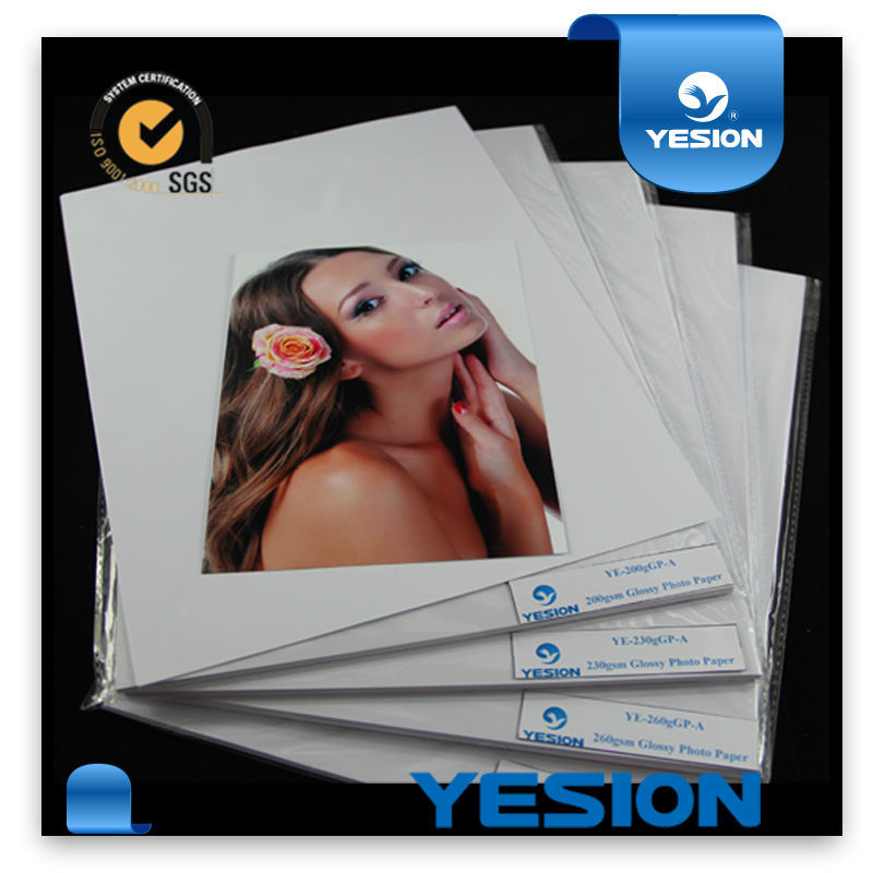 A4 4R 5R 180 200gsm Waterproof Inkjet fuji glossy photo paper